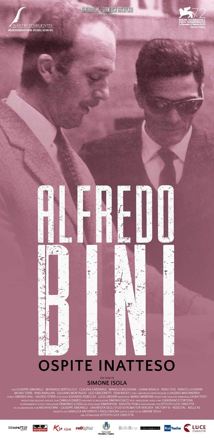 Alfredo Bini, ospite inatteso - Il film a Torino